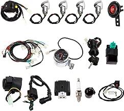 Templehorse High Performance Full Electric Start Engine Wiring Harness Loom 110cc 125cc Quad Bike ATV Buggy