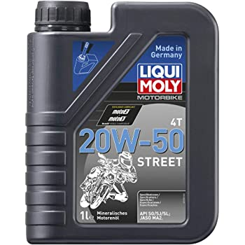 Liqui Moly 20W50 Street Synthetic Technology Engine Oil (1 Liter) (LM001)