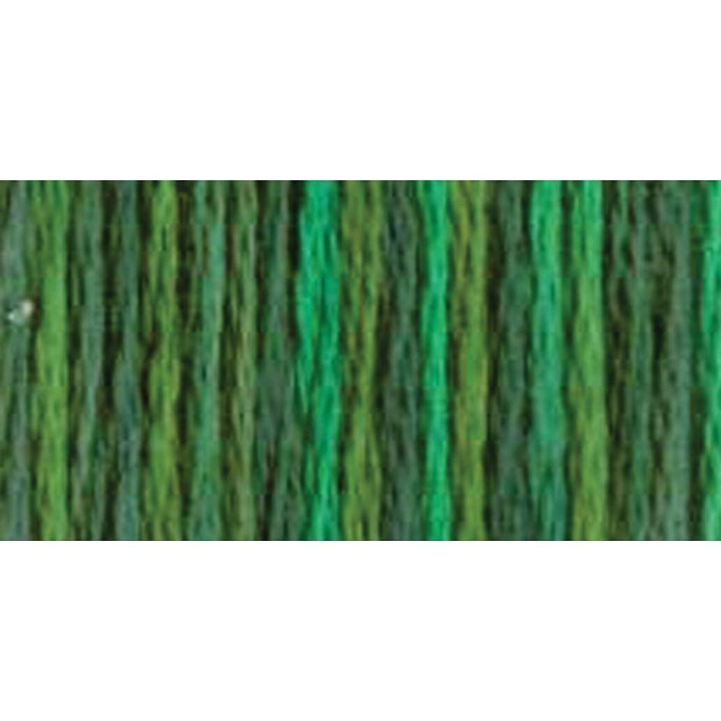 DMC 415 5-4047 Color Variations Pearl Cotton Thread, Size 5, 27-Yard, Emerald Isle