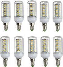 SGJFZD 12V E14 LED Bulbs, Low Voltage 24V E14 Led Corn Lamp Base 10-80v, 6w Light Bulb - 40w Halogen Equivalent - Off Grid...