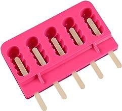 MKNZONE - Juego de moldes para barra de silicona mini helado