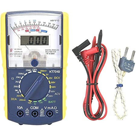 PeakTech P 3296 Voltmetro analogico ~ 1000V AC//DC