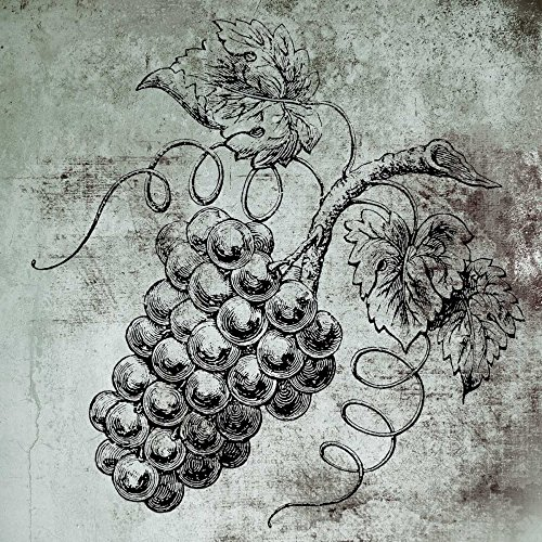 Feeling at home Kunstdruck-auf-GEROLLTE-LEINWAND-cm_18_X_18-Brown-Victoria-Wein-&-Sprirts-Stillleben-Spirituosen-Bild-auf-LEINWAND-380gr-100%-Baumwolle