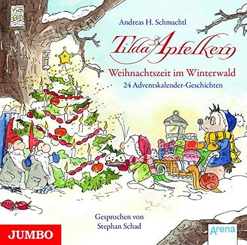 Weihnachtszeit im Winterwald - 24 Adventskalender-Geschichten Titelbild