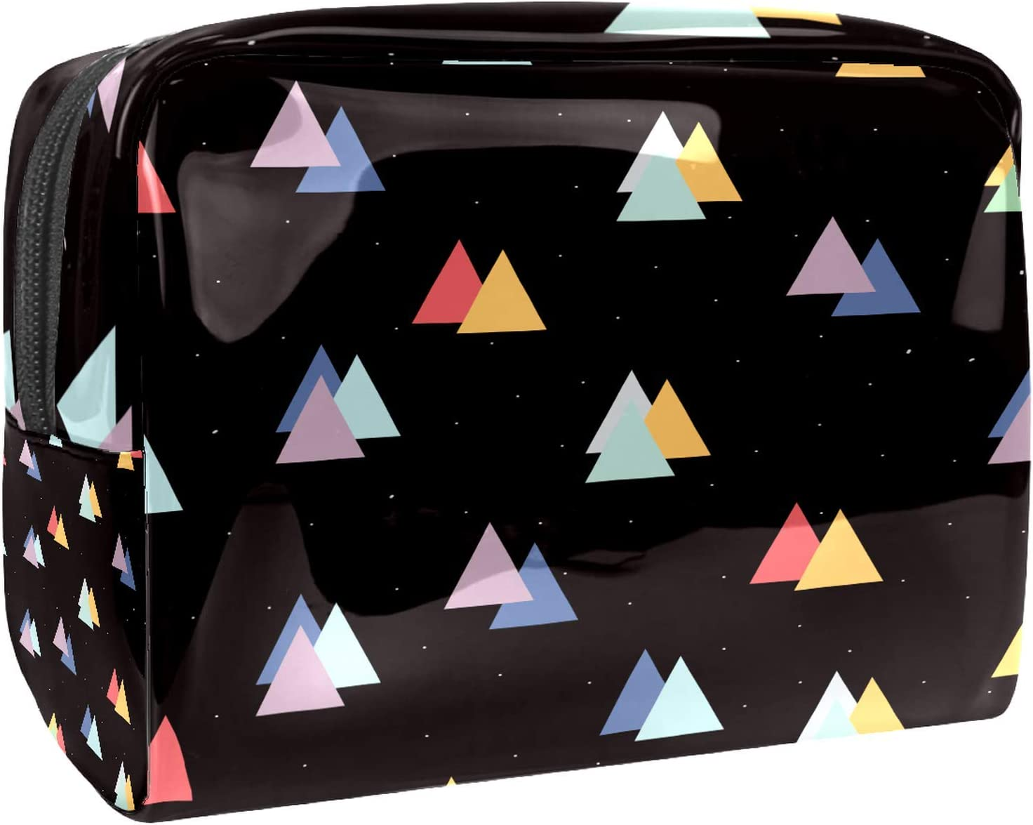 Makeup Be super welcome Bag Portable 2021new shipping free shipping Travel Color for Cosmetic Women Triangle