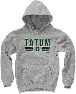 500 LEVEL Jayson Tatum ボストン バスケットボール キッズ パーカー - ジェイソン タタタム ボストン フォント