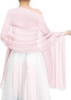 bbonlinedress Schal Chiffon Stola Scarves in Verschiedenen Farben