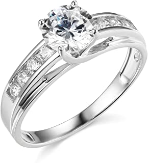 Best cheap white gold engagement ring Reviews