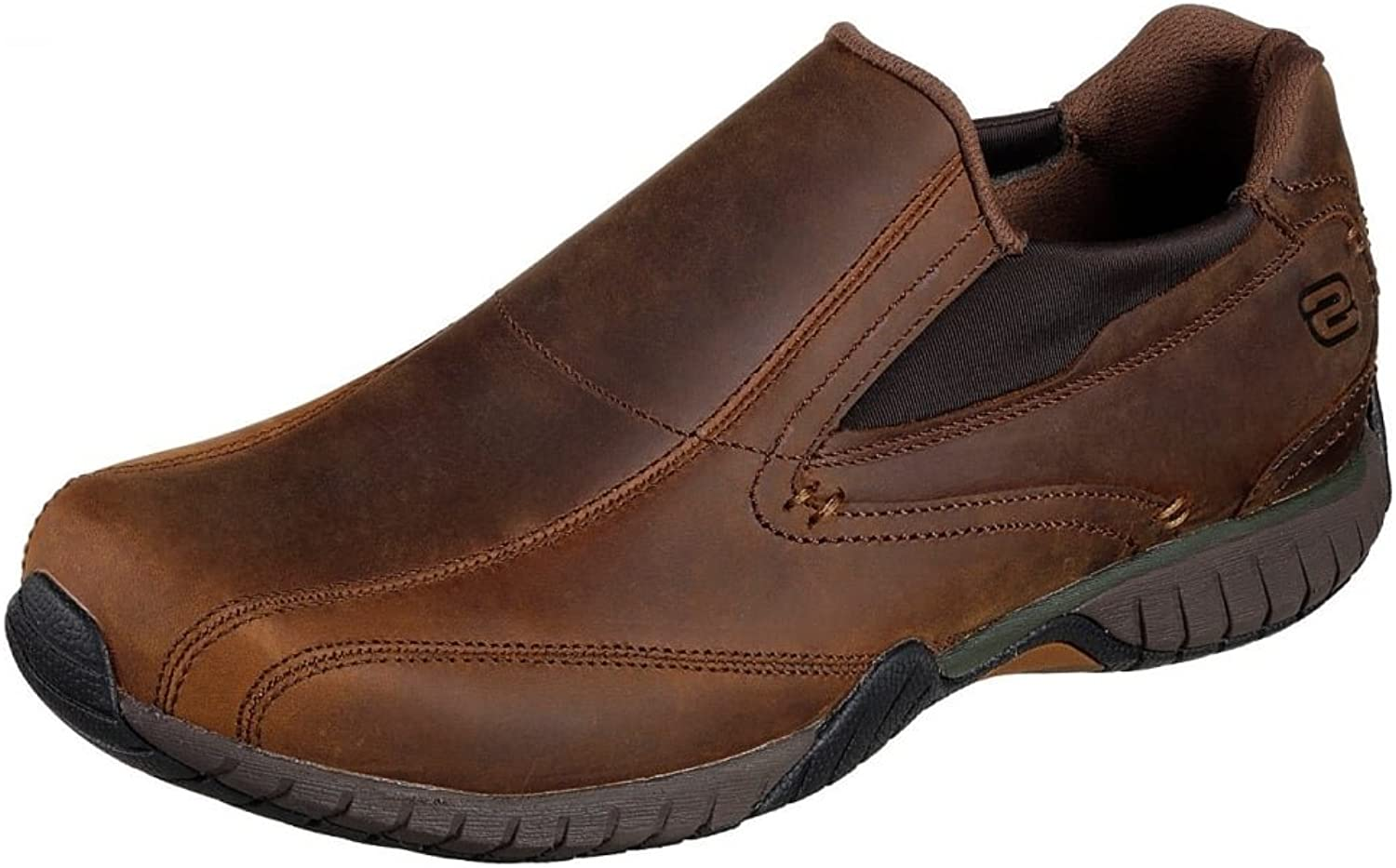 Skechers Classic Fit  Sendro - Bascom Brown Leather shoes 6.5