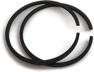 ITACO 2pcs Piston Rings Ring Set 31mm x 1.5mm for Tanaka TBC-230, TCP-210 TBC-220 31mm Replace 041-00601-20 Shindaiwa T20, Mitsubishi TL-23 - Rep A101000230 Chainsaw mistblower brushcutter Engine