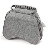 Spervs Travel Controller case Compatible with Switch Pro Controller, and Xbox Controller, Portable and Compact Hard Shell Carrying Controller Case(Grey)