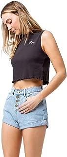 Roxy Womens Authentic High Waist Denim Shorts Erjds03196