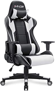 Homall Gaming Chair Office Chair High Back Computer Chair PU Leather Desk Chair PC Racing..