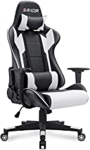 Homall Gaming Chair Office Chair High Back Computer Chair PU Leather Desk Chair PC Racing Executive Ergonomic Adjustable S...