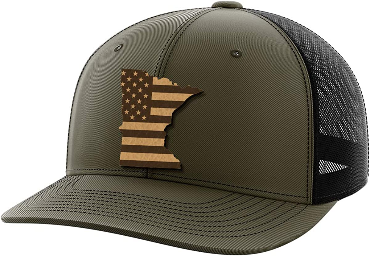 Minnesota United Leather Patch Hat