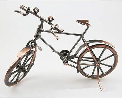 animalhy Decoración para el hogar Escultura Hierro Bicicleta ...