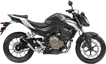 16-18 Honda CBR500R: Leo Vince LV-10 Slip-On Exhaust (Black Ceramic)