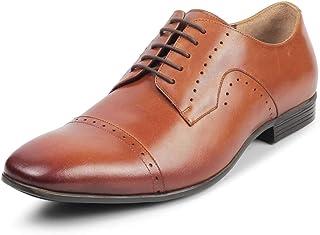 tresmode Men Business Leather Derbys