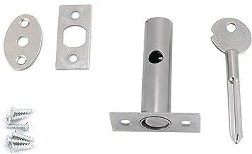 Veel voorkomende sloten Hardware pijpbuis goed onzichtbare dubbele fan fire deur slot brandkast locker ijzeren slot voor v...
