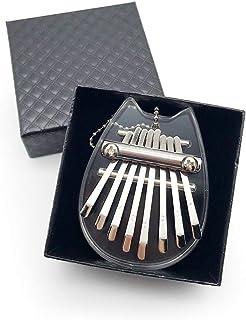 Vegena Kalimba 8 Clés, Piano à Pouce Professionnel Acrylique Doigt Piano Marimba Cadeau Musical cadeau Instrument de Musiq...