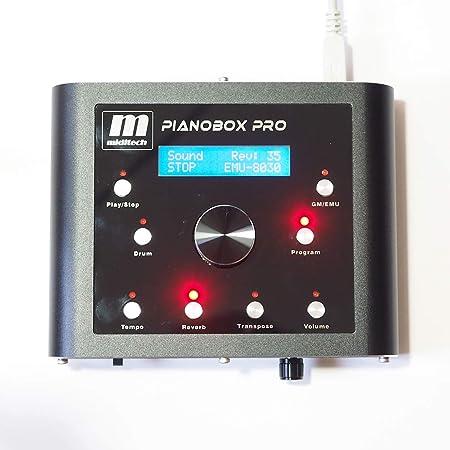 【正規輸入品】GM音源+E-MU音源モジュール:PIANOBOX PRO・ピアノボックス・プロ