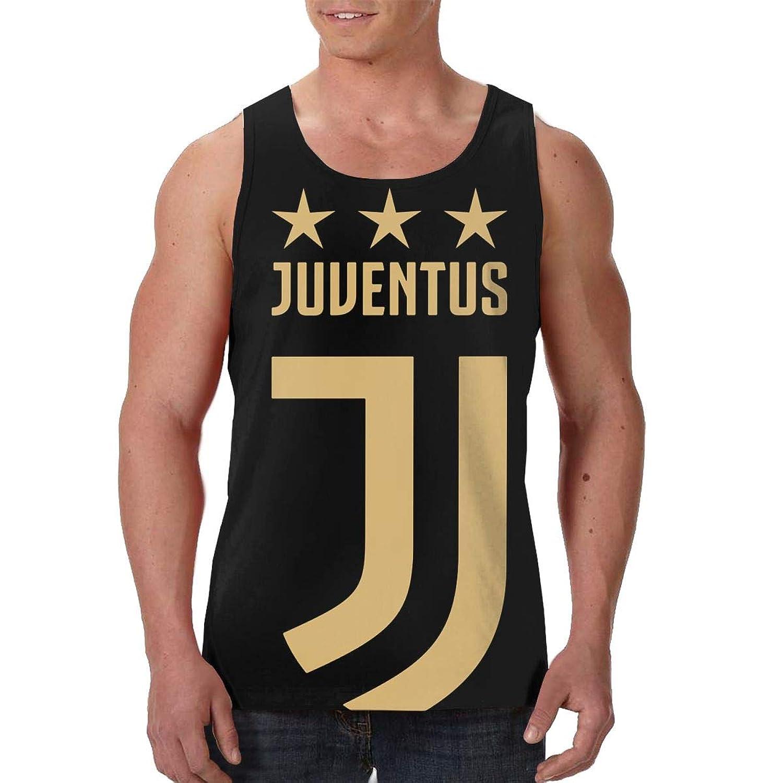 Juventus F.C. メンズ タンクトップ デザイン ノースリーブ 花柄 トレーニング