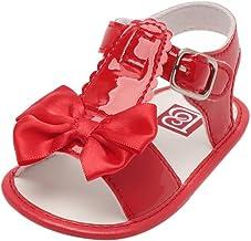 Sandalias de Bebé Verano Infantil Bebé Niña Bowknot Cuna Zapatos Zapatos únicos Antideslizantes de Suela Blanda Sandalias Zapatilla Sneaker Niñas Zapatos Primeros Pasos niña