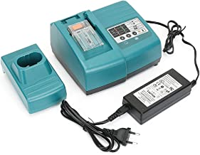 REEXBON 7.2V-18V Ni-MH & Ni-CD & Li-ion Battery Charger for Makita DC18RA DC18RC DC18SC 7000 9000 9120 1200 1222 1434 1833 1834 PA18 BL1430 BL1830 Battery(Battery not Included)