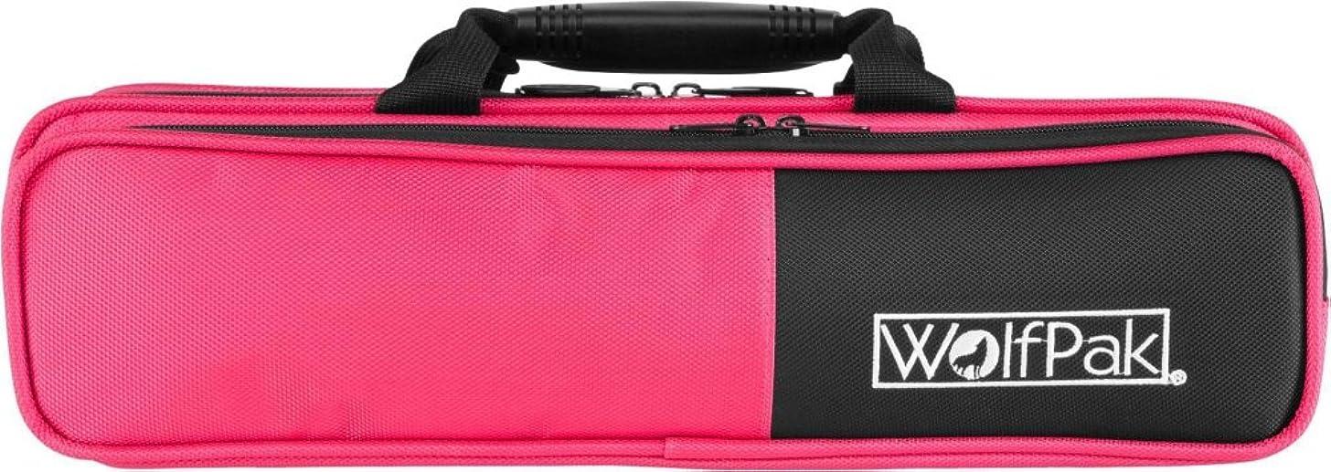 WolfPak Colors Series Lightweight Polyfoam Flute Case Pink