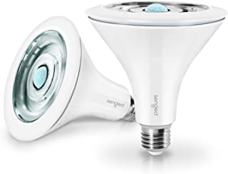 چراغ سیلاب LED Sengled با سنسور حرکت و سنسور نور روز ، چراغ هوشمند LED لامپ PAR38 ، لامپ غروب تا سپیده دم ، 5000K ضد آب برای مصارف داخلی و خارجی ، 2 بسته