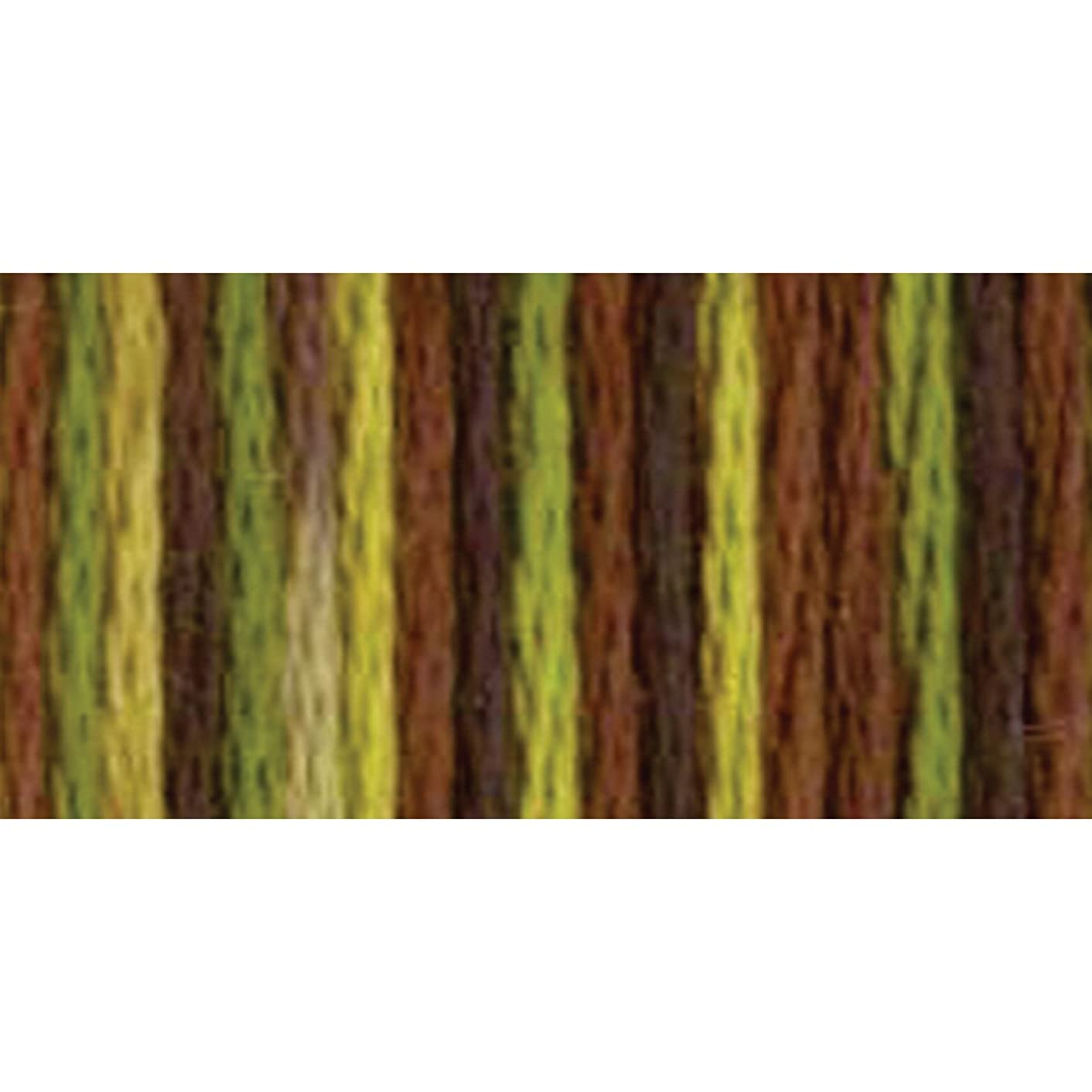 DMC 415 5-4068 Color Variations Pearl Cotton Thread, 27 yd, Size 5, Camouflage
