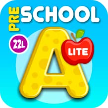 Preschool All-In-One Learning - Bubble School Adventure A to Z: Basic Skills Games for Kids - Learn to Read and Count with Animals (220 Interactive Flash Cards) – Educational Toy for Baby, Toddler & Kindergarten Explorers by Abby Monkey® (Lite)