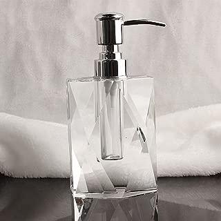Crystal,Shower dispensers,Bathroom detergent bottle,Hotel Shampoo shower gel bottle Wash basin accessories Home Gel shower box Shampoo box-A