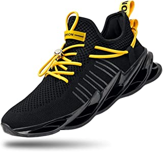 Mens Walking Shoes Running Non Slip Blade Type Sneakers