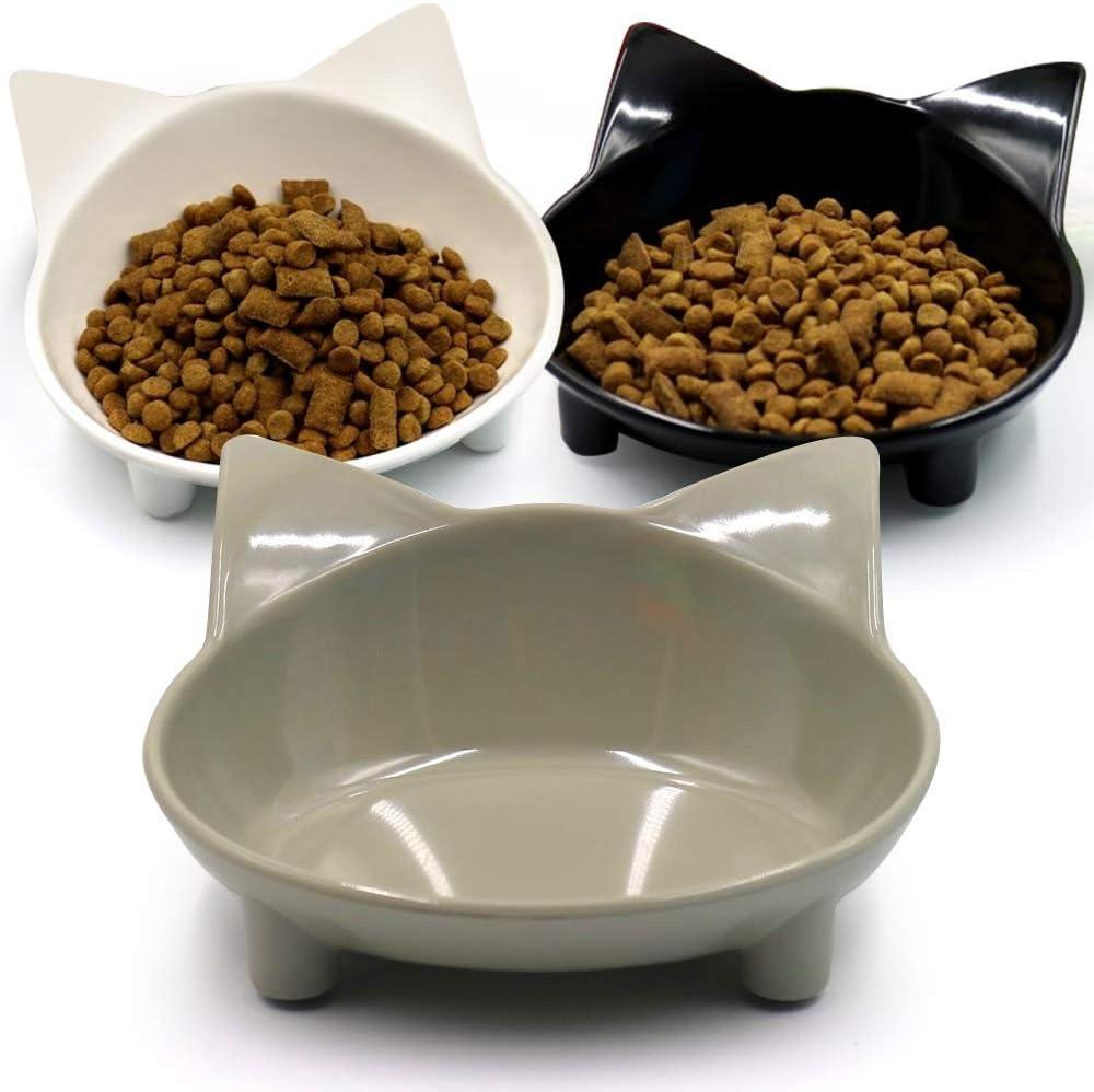 El Paso Mall Cheap emlstyle cat bowls Dog Bowls Cat Food Anti-slip Multi-purpose Bo