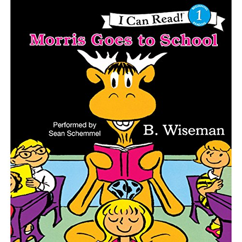 Morris Goes to School audiobook cover art