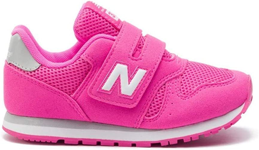 New Balance YV373PK Chaussures pour fille Rose Taille 34,5: Amazon ...