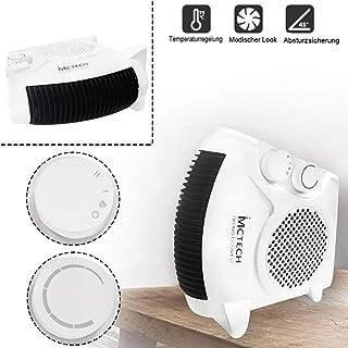 Calefactor de bajo consumo con 2 niveles de calor (1000/2000 W) y nivel de frío (ventilador). Tipo A.