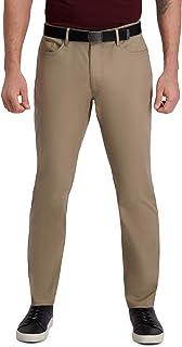 Haggar mens PLN BROKEN TWILL PANT Pants