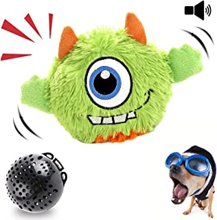 NEILDEN Interactive Dog Toys Plush Giggle Ball Toys Puppy Motorized Entertainment for Pets Automatic Electronic Shake Crazy Exercise Boredom Bouncer Toys for Small to Medium Dogs …