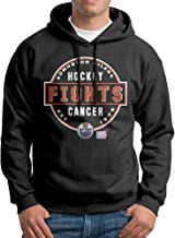 Edmonton Oilers Hockey Fights Cancer Conquer Man's Sweatshirts Hoodie