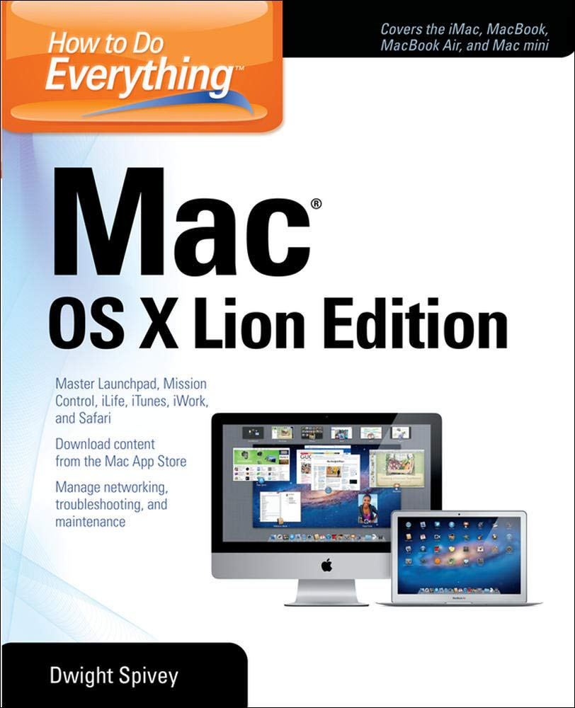 Image OfHow To Do Everything Mac OS X Lion Edition