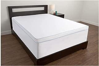 Comfort Revolution Cover for 1.5-4 Memory Foam Bed Toppers, Full