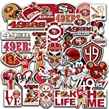 Stickers Pack San Francisco Vinyl 49ers Stickers Pack of 36 pcs