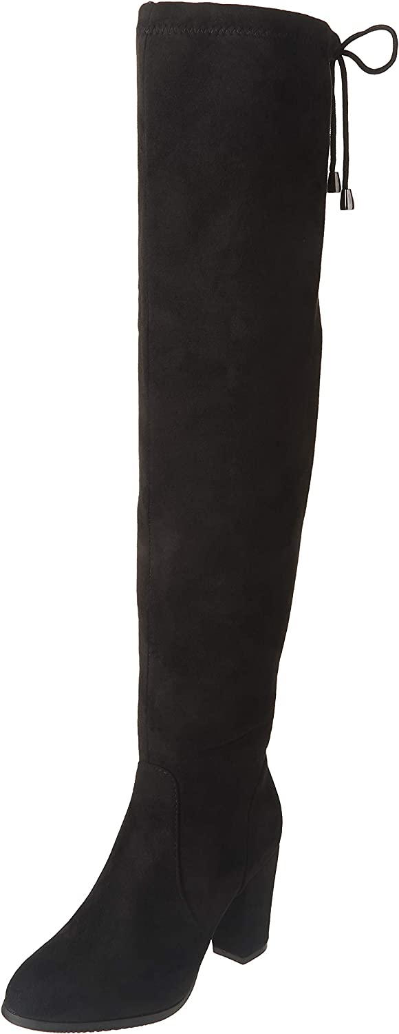 DREAM PAIRS Women's Thigh High Max 76% OFF Fashion Block Knee Over The famous Boots