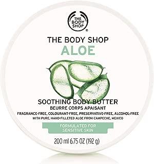 The Body Shop Aloe Body Butter, Soothing Body Moisturizer, 6.75 Oz.
