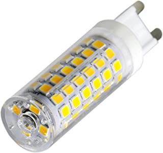 grossartig AC 220-240V (1PCS) G9 9W 76LED Light Bulb 2835SMD 750-850 Lm Warm White/Cool White LED Ceramics Lamp (Color : W...