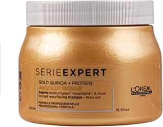 LOréal Professionnel Gold Quinoa + Protein Absolut Repair - Mascarilla para pelo 500 ml