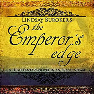 The Emperor's Edge audiobook cover art