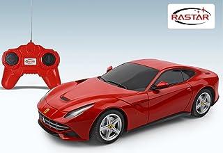 Rastar Ferrari F12 Remote Control Car, Red, 48100